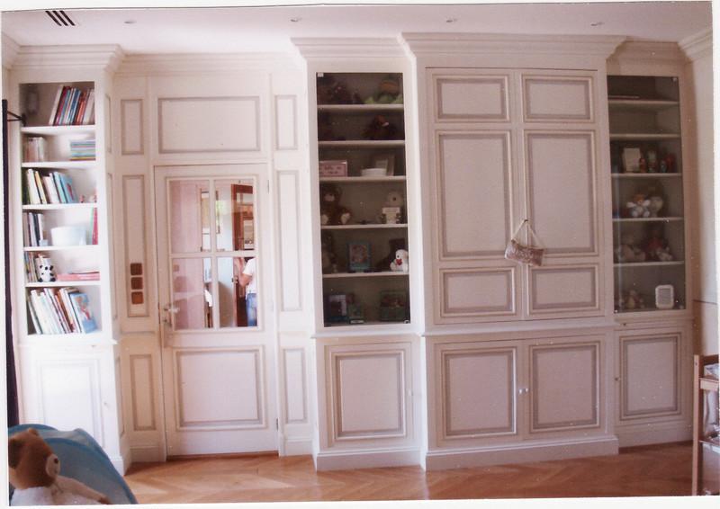 biblioth ques et am nagement atelier pointelin. Black Bedroom Furniture Sets. Home Design Ideas